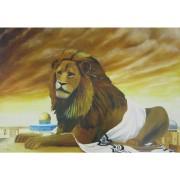 ציור - אריה בהר הבית