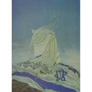 ציור - הטלית והדגל