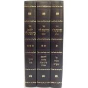 קדושת לוי 3 כרכים
