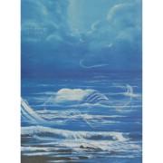 ציור - תכלת דומה לים